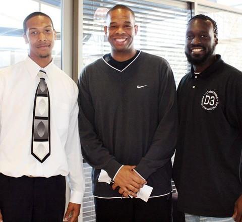 Brandon aka Tyga Wudz, Coach Davis, M.Reed